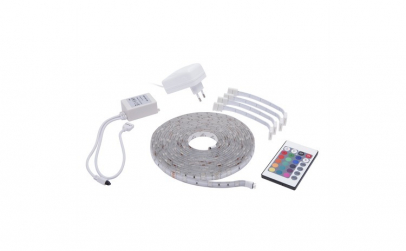 Set banda LED RGB, 5m, IP65
