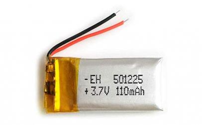501225 - Acumulator Li-Po 3,7 V -110mah