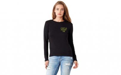 Bluza dama neagra - Sunflower