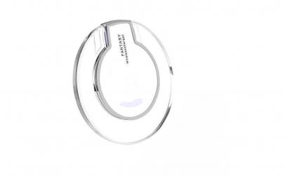 Incarcator wireless cu LED, micro USB