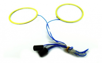 Cerc LED COB 80mm 12V alb ( PRET / BUC