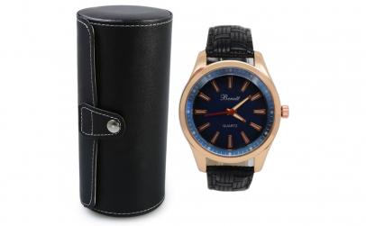 Pachet cutie caseta + ceas elegant