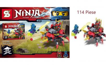 Joc creativ lego Ninja peste 114 piese