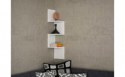 Raft de perete Corner Furny Home, 25 x