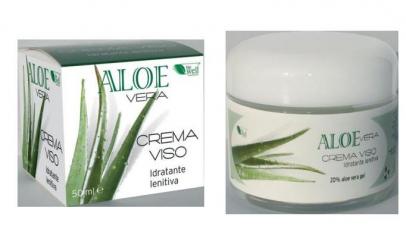 Crema hidratanta de fata cu Aloe Vera