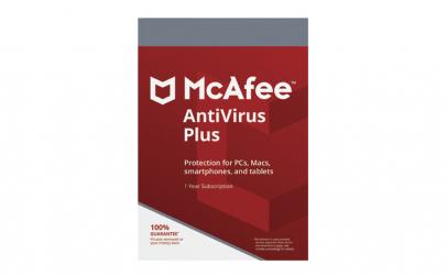 McAfee AntiVirus Plus - PC, Android,