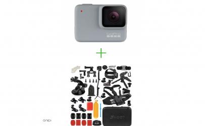 GoPro Hero7 White + Pchet accesorii