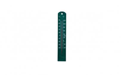 Termometru gradina 40 cm verde