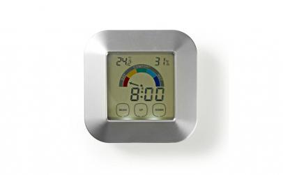 Termohigrometru digital cu ceas si ecran