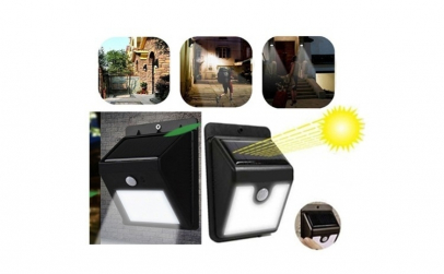 Lampa solara 8 led si senzor de miscare