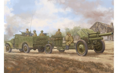 1:35 M3A1  late version tow 122mm