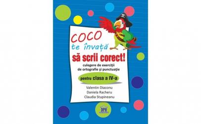 Coco Te Invata Sa Scrii Corect -