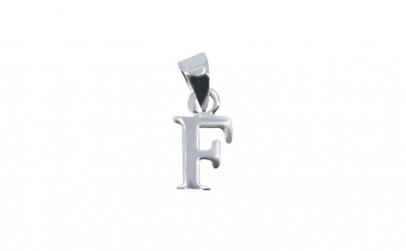 Pandantiv Argint 925, Litera F