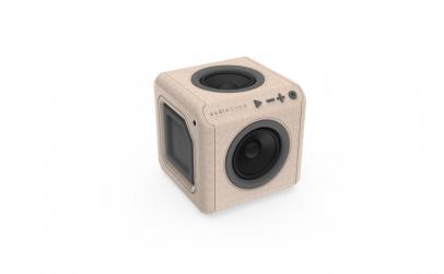 AudioCube Allocacoc Portable WOOD