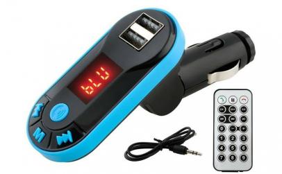 Modulator FM Bluetooth cu Telecomanda