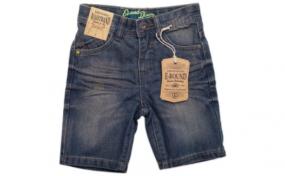 Pantaloni scurti, blugi, E-Bound - 4