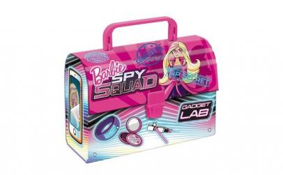 Gentuta cu maner din carton, Barbie,