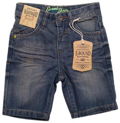 Pantaloni scurti, blugi, E-Bound - 3