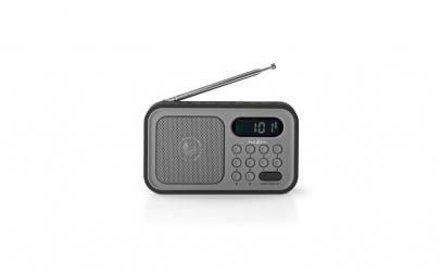 Radio portabil functie de ceas cu alarma