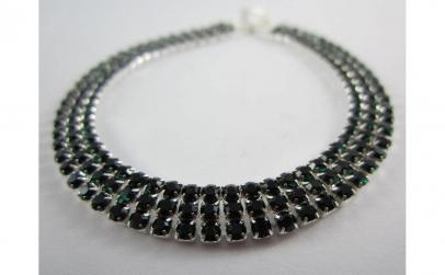 Bratara Green Crystal