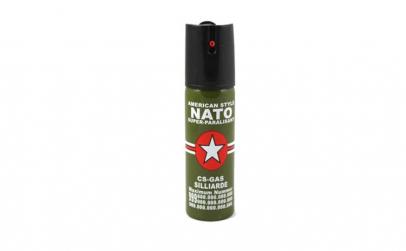 Spray paralizant NATO, propulsie jet