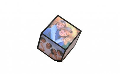 Rama foto cub rotativ cu 6 poze cu