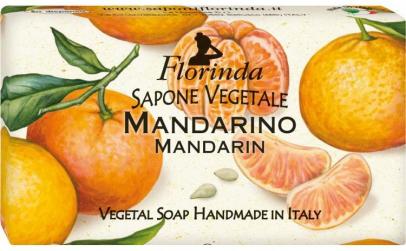 Sapun vegetal cu mandarine, 100 g