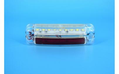 Lampa laterala cu LED 12-24V ALB - ROSU