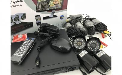 Sistem supraveghere CCTV - 4 camere
