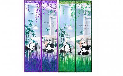 Perdea Anti-insecte Panda Bear Verde/Mov