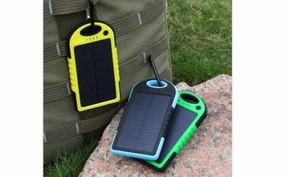Baterie externa solara 6000 mAh