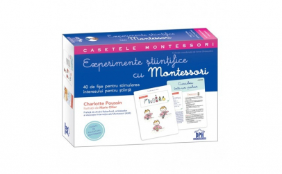 Caseta Montessori - Experimente