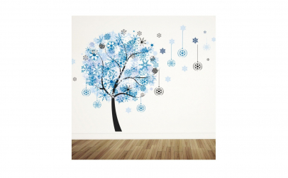 Sticker decorativ Copacelul zapezii