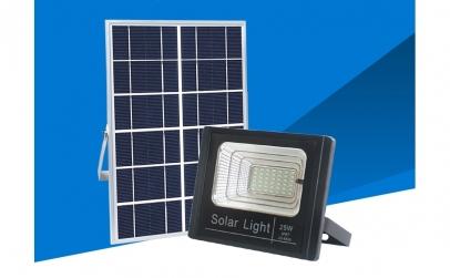 Lampa solara cu panou energie solara