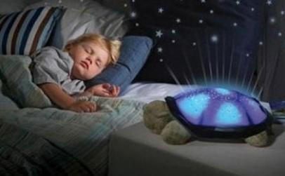Lampa de veghe-proiector broscuta