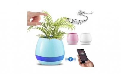 Ghiveci inteligent cu boxa Bluetooth