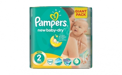 Scutece PAMPERS GIANT PACK 2 NEW BORN