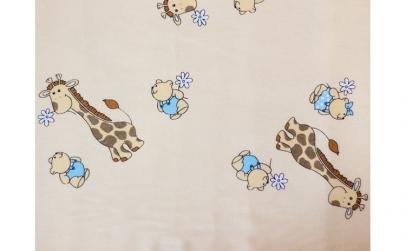 Buzunar Patut MyKids Mini Giraffe Crem