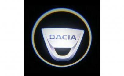 Lampi led logo portiere universale Dacia