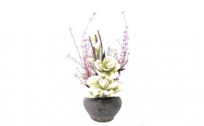 Flori artificiale decorative cu