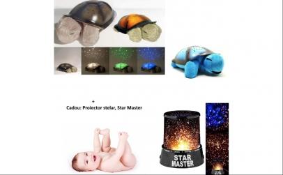 Broscuta proiector + veioza Star
