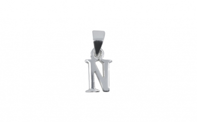 Pandantiv Argint 925, Litera N