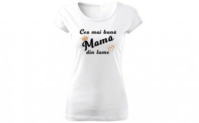 Tricou de dama Cea mai buna mama COD
