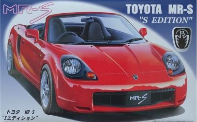 1:24 Toyota MR-S