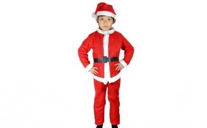 Costum de Mos Craciun pentru baietei