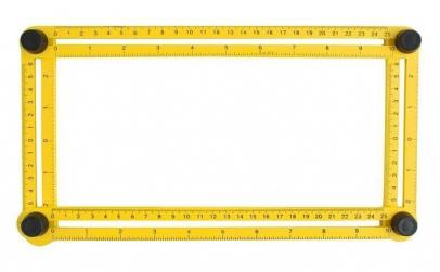 Echer multifunctional 70x30 cm, 4 laturi