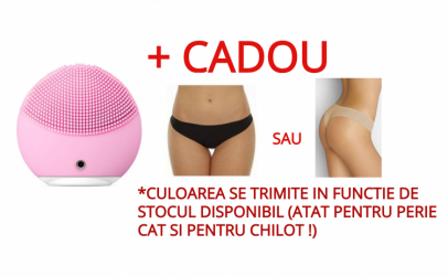 Perie de curatare faciala+Chilot tanga
