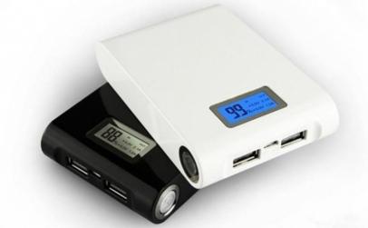 Baterie externa, dubla iesire USB