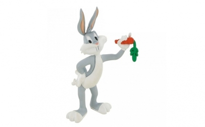 Figurina Bugs Bunny mananca morcov
