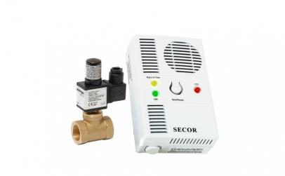 Detector de gaz metan si monoxid Secor 2
